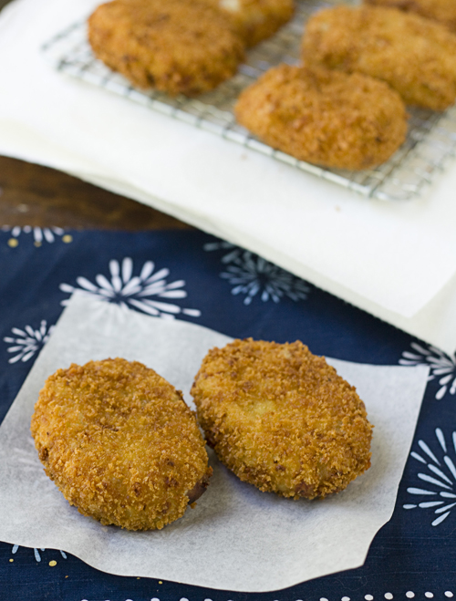 Sweet Potato & Jarlsberg Cheese Croquettes