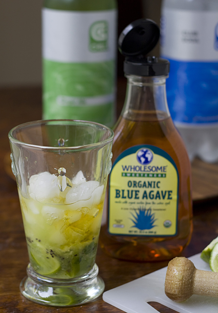 Virgin Muddled Kiwi Mojito Recipe — Dishmaps