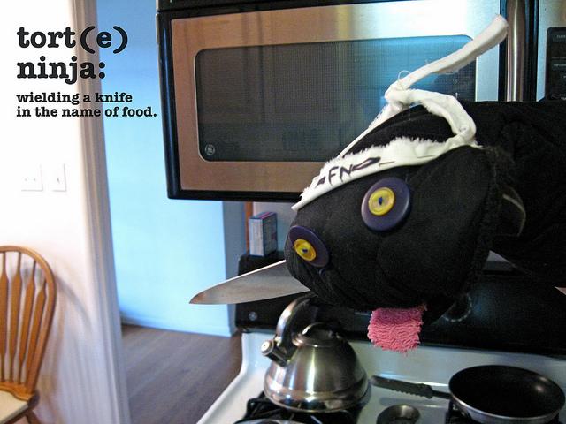 Baking Barrister - tort(e) ninja