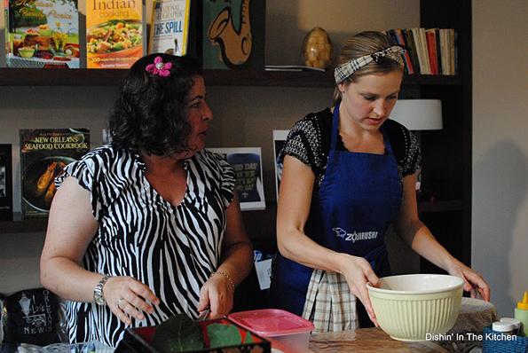 Erika (In Erika's Kitchen) & Rachael (La Fuji Mama)
