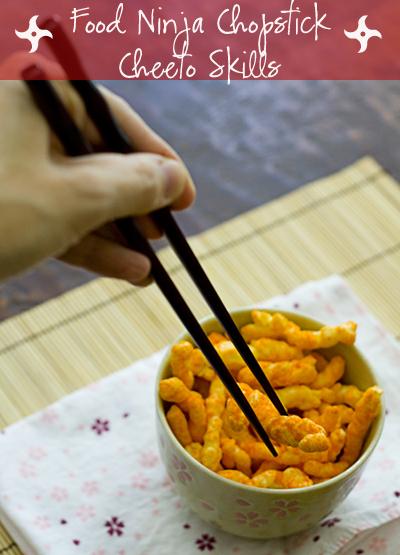 Food Ninja Chopstick Cheeto Skills