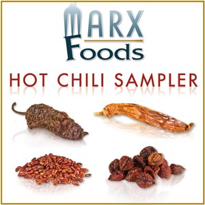 Marx Foods Hot Chili Sampler