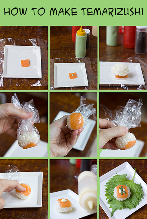 Salmon Temarizushi (Ball-Shaped Sushi) Recipes — Dishmaps