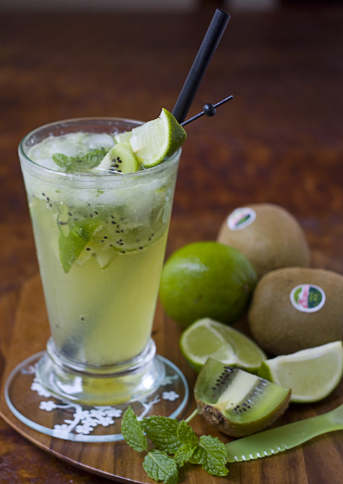 Virgin Muddled Kiwi Mojito