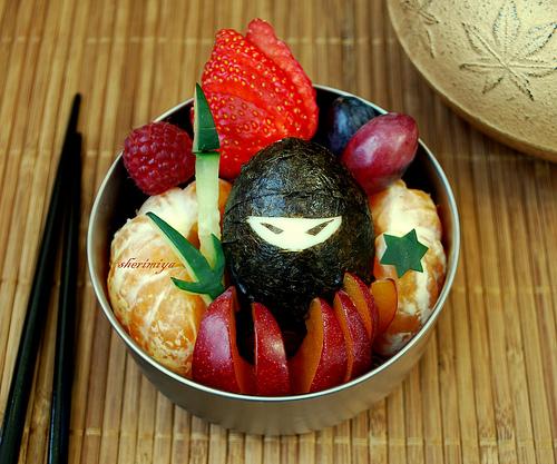 Sherimiya's Ninja In The Fruit Bento photo