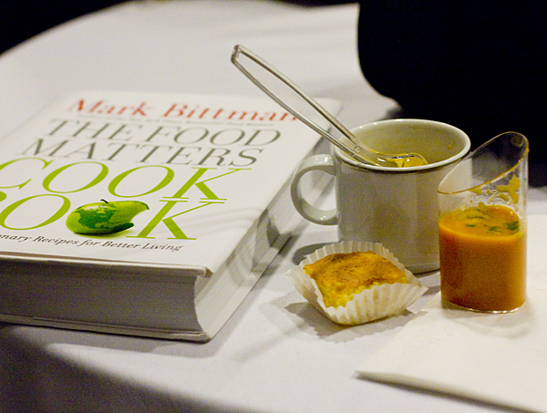 A few tastes from Mark Bittman's The Food Matters Cook Book