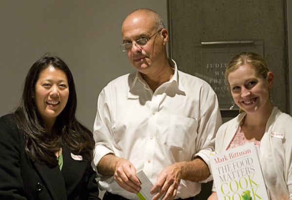Jen (devourtheworld.blogspot.com), Mark Bittman, & Rachael