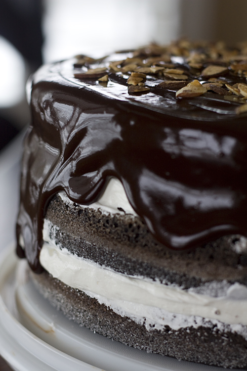 Decadent Ho Ho Cake