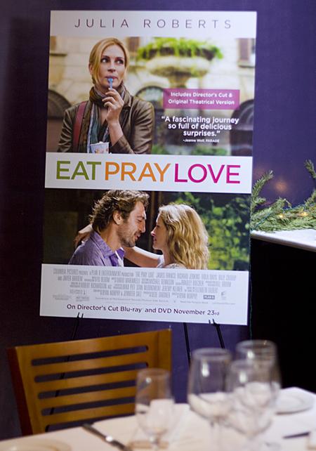 Eat Pray Love Luncheon