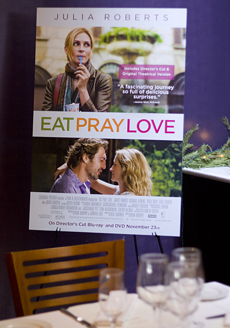 Eat Pray Love Luncheon
