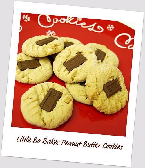 Little Bo Bakes Peanut Butter Cookies