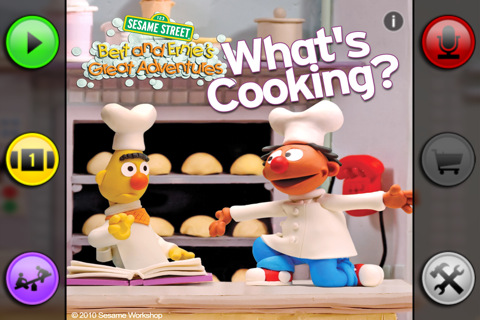 Bert and Ernie's Great Adventure What's Cooking