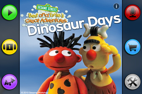 Bert and Ernie's Great Adventures Dinosaur Days