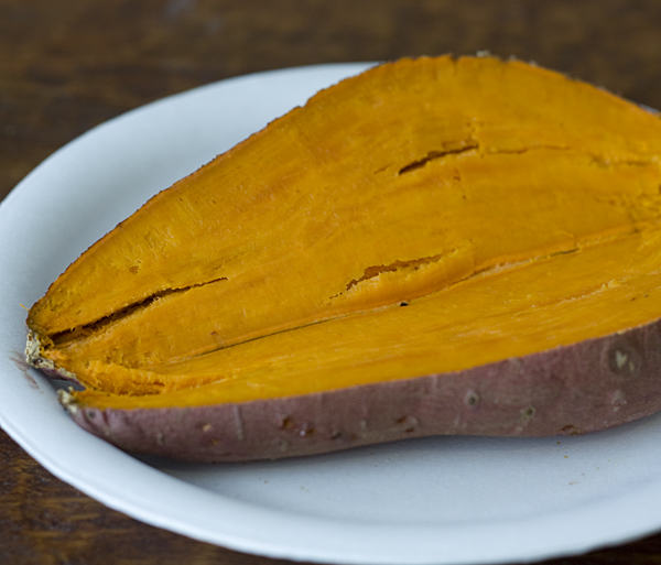 Cooked Sweet Potato