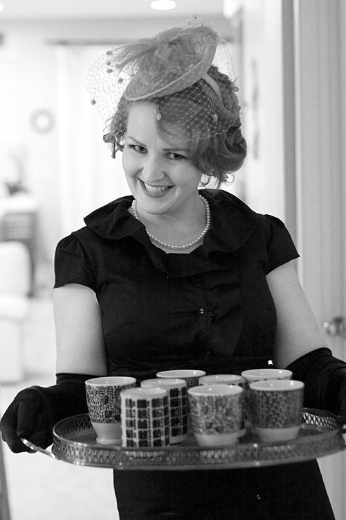Kathleen Connor Serving up Soup