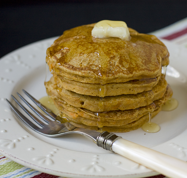 Heavenly Sweet Potato Pancakes