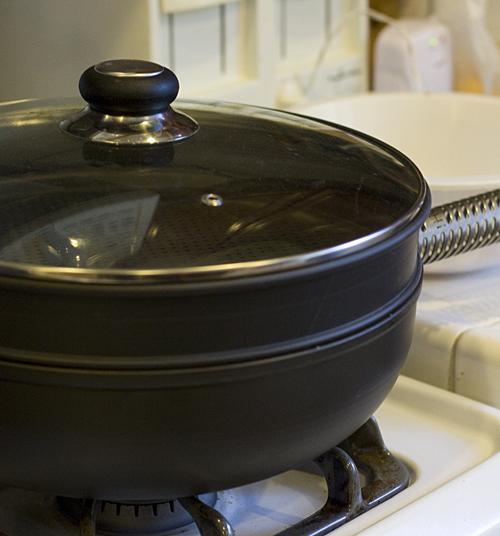 ManPans 12-inch Wok Steamer Set