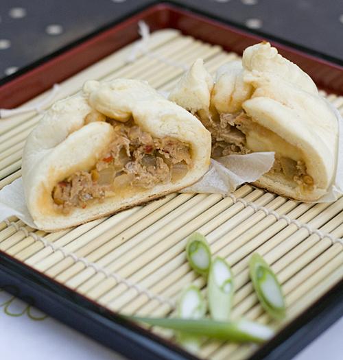 Nikuman Japanese Steamed Pork Buns La Fuji Mama