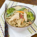 Chicken and Noodles with Peanut Sauce