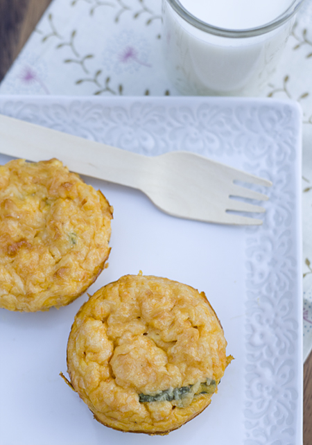 Sweet Potato Quiche Cups