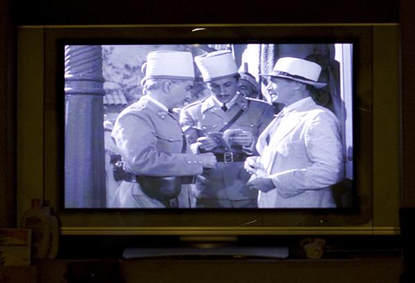 Watching Casablanca