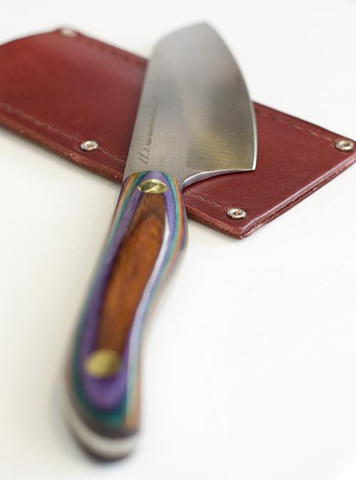 New West Knifeworks Chopper Chef Knife