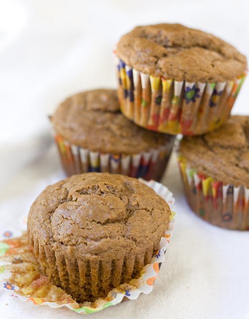 Nutella Bran Muffins