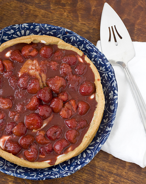 Strawberry Nutella Puff Tart