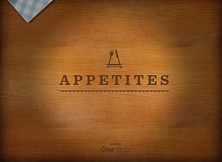 Appetites iPad App