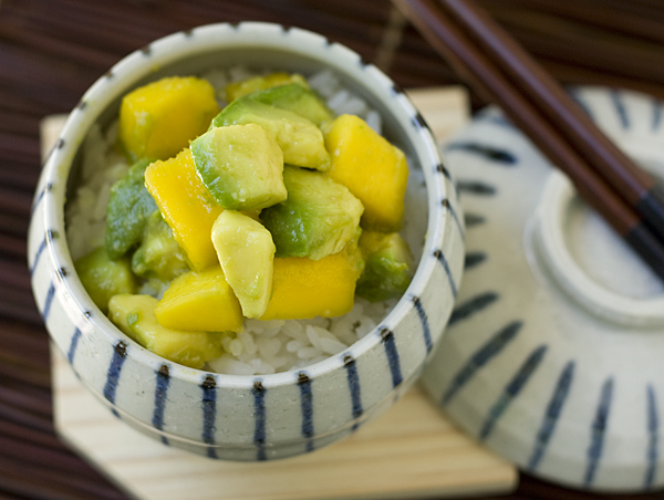 Avocado Mango Donburi