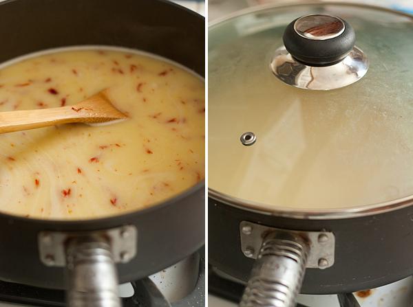 Cooking Saffron Rice