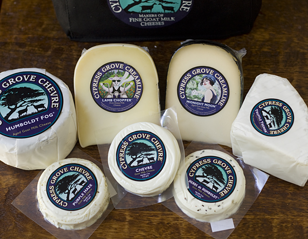 Cypress Grove Chevre Cheeses