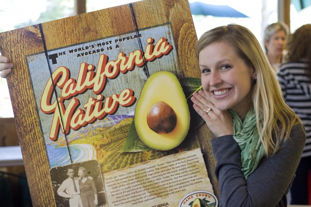 Fuji Mama and Hass Avocados = California Natives