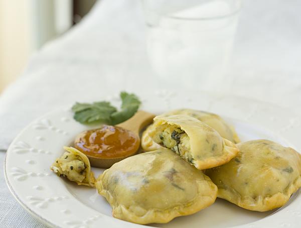 Potato Goat Cheese Pockets Recipe — La Fuji Mama