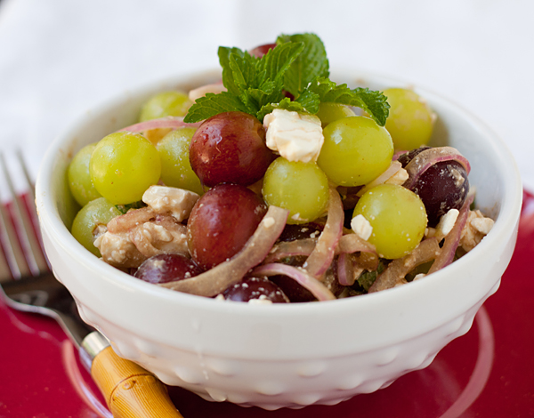 Refreshing Grape and Feta Salad