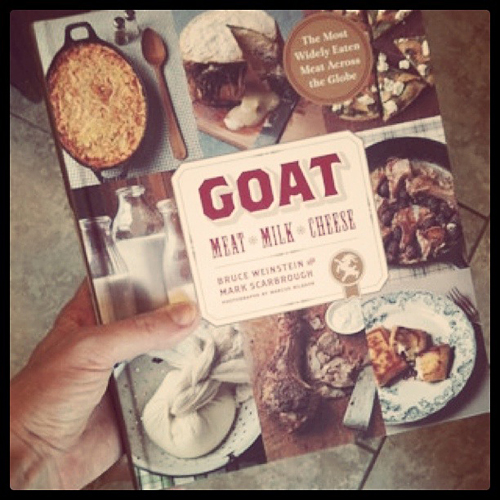 Goat: Meat, Milk, Cheese---Cookbook by Bruce Weinstein and Mark Scarbrough