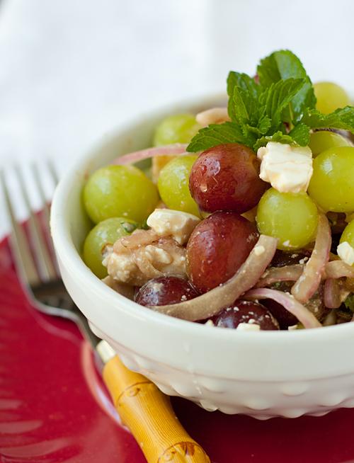 Grape and Feta Salad