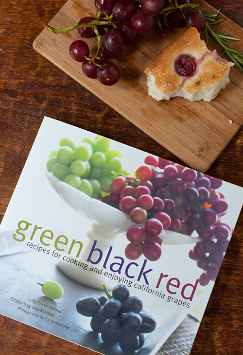 Green Black Red, Recipes for Cooking and Enjoyin California Grapes