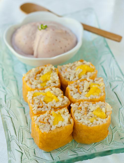 Recipe  Mango Sushi Roll  U2014 La Fuji Mama