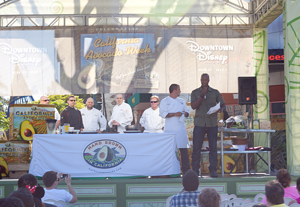 Kick-off for California Avocado Week at Downtown Disney