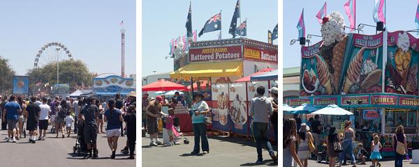 At the Orange County Fair