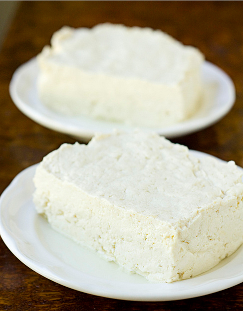 Fresh Homemade Tofu