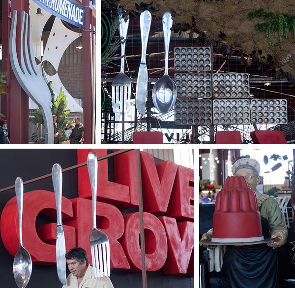 Live, Eat, Grow at the OC Fair exhibit Promenade