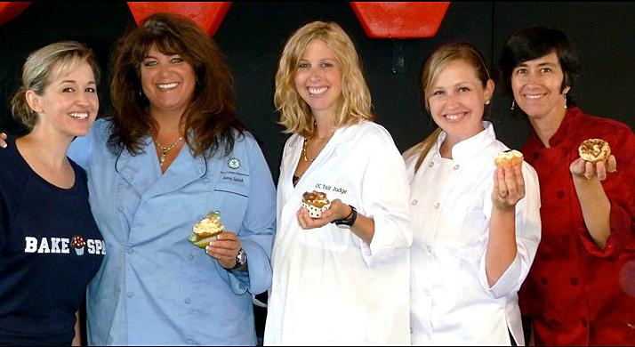 OC Fair Cupcake Classic Judges