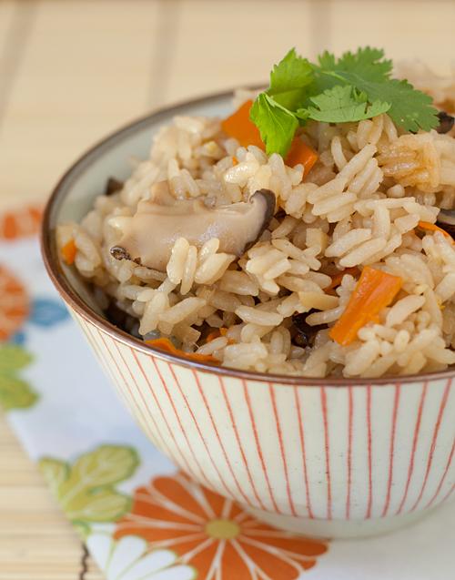 A bowl of Takikomi Gohan