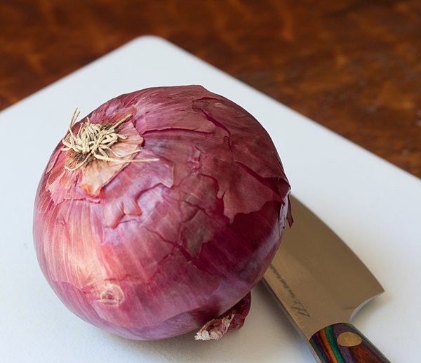 Fall Red Onion
