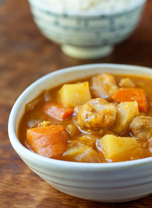 Japanese Chicken Curry Rice Recipe La Fuji Mama