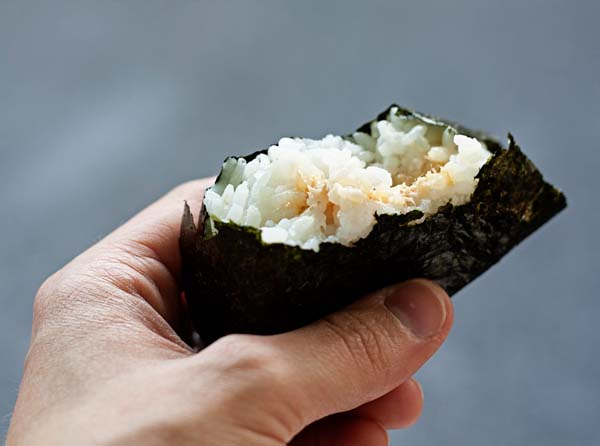 rice ball onigiri rice balls these rice balls are rich with happy rice ...