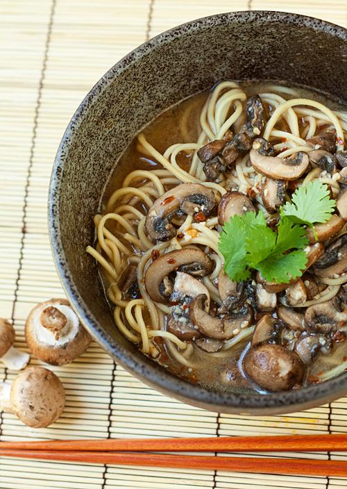 Spicy Mushroom Miso Ramen