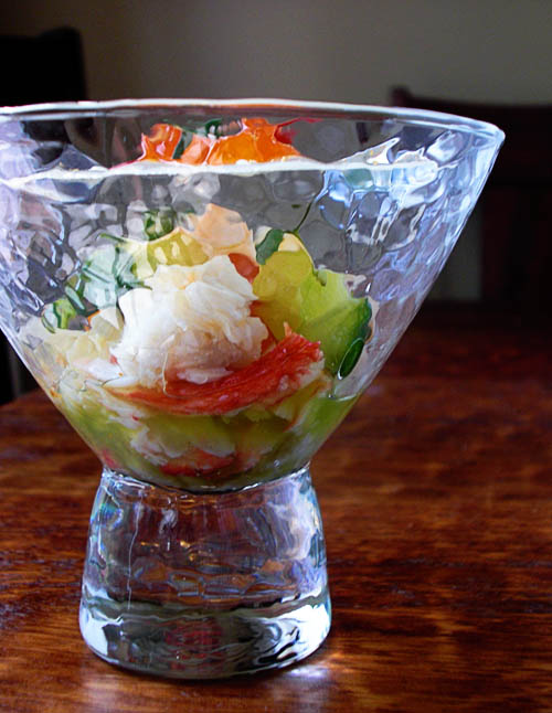 Poached Alaskan King Crab Salad